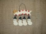 Banner w/ Snowman Charms